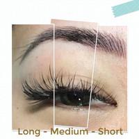 FREE LEM KOREA Human Hair Individual Bulu Mata Tanam Eyelash Extension