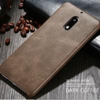 X-LEVEL VINTAGE Nokia 6 soft case hp leather kulit back cover original