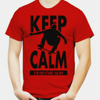 KAOS KEEP CALM / SKATERS / TSHIRT DISTRO / BAJU MURAH ORIGINAL