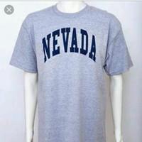 Kaos tshirt kaos pria Nevada