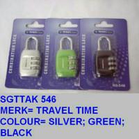 Gembok Koper Gembok Tas Merk Travel time 546