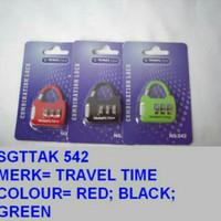Gembok Koper Gembok Tas Merk Travel Time  542