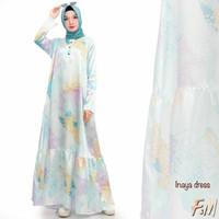 Ready Inaya dress ori by F&M /gamis/longdress/dres wanita/100%original
