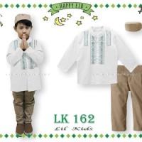baju koko anak import  model lengan panjang merk lil kids size small