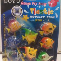 Aksesoris Aquarium Boyu/Mainan Ikan Plastik/Plastic Novelty Fish Boyu