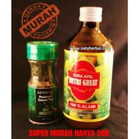 Harga super murah cuka apel dan teh ketocha untuk diet keto | antitipu.com