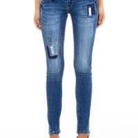 Celana Levis Jeans Lois Original, Celana Panjang Wanita Skinny Biru