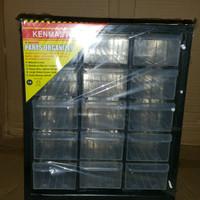 Kenmaster Rak Drawer/Komponen 15 slot