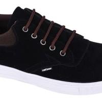 Sepatu Sekolah SMA Kerja Sneaker Laki Laki Pria CATENZO NY 084 Hitam
