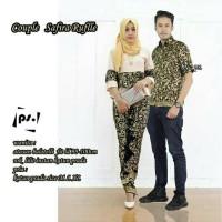 Batik Couple Safira Ruffle Kebaya Modern Tanah Abang Lonceng SFC