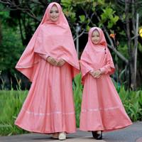 Busana Muslim SETELAN GAMIS IBU DAN ANAK / GAMIS JUMBO /GAMIS COUPLE