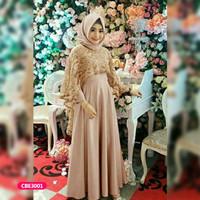 Gamis wanita muslim dress pesta nay