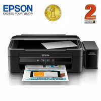 Printer Epson L360 Infus Print Scan Fotocopy Foto Copy