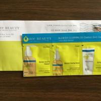 Jual Juice Beauty Organic Blemish Clearing Oil Control Skin Care SAMPLE set Murah