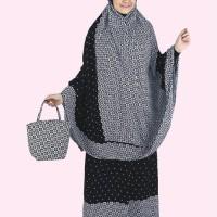 Baju Muslim Koko Pakistan Gamis Dress Mukena Wanita Pria Anak Hitam