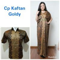 Ida Couple batik 2in1 dress maxi panjang kaftan dan atasan M – XL