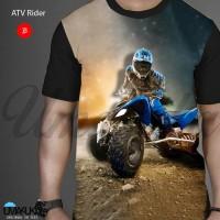 Harga atv rider kaos otomotif 3d umakuka bandung full   Hargalu.com