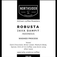 Jual BIJI KOPI FINE ROBUSTA DAMPIT - 100GR NORTHSIDER COFFEE Murah