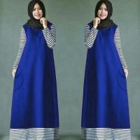 TERMURAH GI GFO Ameera hijab BIRU