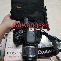 KAMERA DSLR CANON 550D KIT 18-55MM
