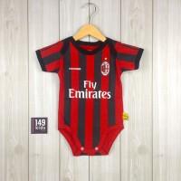 Jumper Bola Bayi Jersey - Baju Anak Bayi laki laki - Milan 1