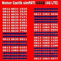 Kartu Perdana Nomor Cantik Telkomsel Simpati 4G LTE No AS Loop XL IM3