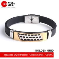 Japanese Style Bracelet - Golden Series (Gelang Tangan)
