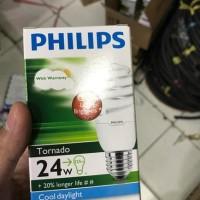 LAMPU TORNADO PHILIPS 24W 24 W 24 WATT 24WATT