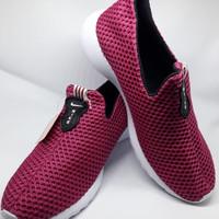 Sepatu Nike Wanita KW Slip ON ( Tanpa Tali) - Pink (Size 36-40)