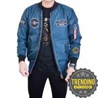 Jaket Bomber Pilot | Unisex | Retro | Premium | Tosca