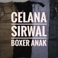 Produk Terlaris Celana Sirwal Boxer Anak