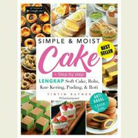 Buku Simple & Moist Cake Tintin Rayner