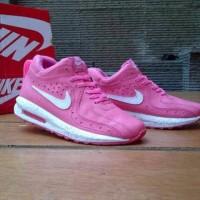 TERBARU sepatu kets wanita nike air max 1 lunar pink white