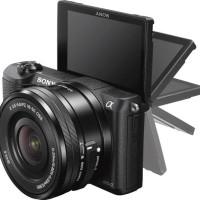 Sony a5100 Mirrorless Camera Kit Hitam (JUAL MURAH BRAND NEW CUMA 1)