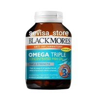 Jual Blackmores Odourless Omega Triple Concentration Fish Oil 60tabs Murah