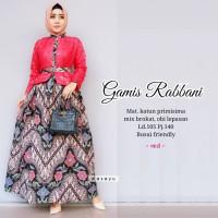 Gamis Batik Wanita Rabbani Batik Halus Pekalongan