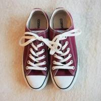 [IMPORT VIETNAM] Sepatu Converse - Maroon (FREE BOX) GRADE ORIGINAL