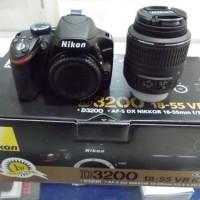 NIKON D3200 + LENSA KIT 18-105 VR