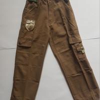 Celana cargo anak laki laki import branded JEEP Original