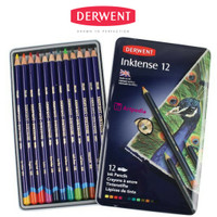 DERWENT Inktense Pencil Set 12 - Pensil Derwent