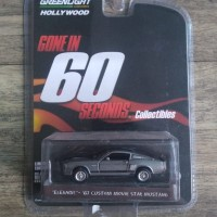 Greenlight '67 Ford Mustang Eleanor - Gone in 60 seconds movie star