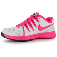 Nike Vapor Court Women s White Pink Sepatu Tenis Tennis Shoes Original 555fbfea32
