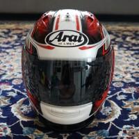 Helm Arai RX7 RR5 Pedrosa GP Red