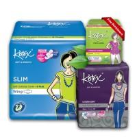 Kotex Value Package 3 [Free Liners Daun Sirih 8 Pcs]