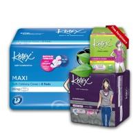 Kotex Value Package 2 [Free Liners Daun Sirih 8 Pcs]
