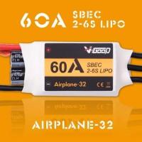 V-GOOD Airplane32 60A ESC 2-6S SBEC 5.5V 10A Smooth 32bit MCU