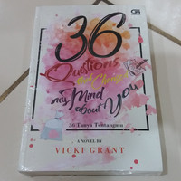 Novel 36 Questions That Changed My Mind About You (36 Tanya Tentangmu)