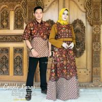 Laras set couple katun batik primissima