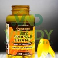 Puritan's Pride Bee Propolis 500 mg isi 100 butir
