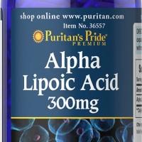 Alpha Lipoic Acid 300mg isi 60 butir